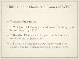 example of causes of ww essay in addition to the valuable territorial and industrial gain and to removing a significant military force from his list of enemies out firing a shot