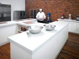 an white formica carrara bianco in the ideal edge