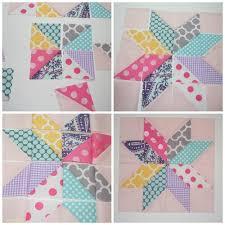 Star Flower Quilt Block Tutorial | AllFreeSewing.com & Star Flower Quilt Block Tutorial Adamdwight.com