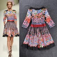Discount <b>Runway</b> Dress Floral Print