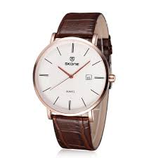 only us 13 31 brown skone ultra thin casual vintage men only us 13 31 brown skone ultra thin casual vintage men wristwatch big dial tomtop com