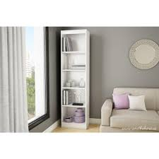 white office bookcase. beautiful white axess 5shelf bookcase in pure white in office
