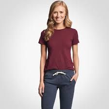 Womens Cotton Performance T Shirt Russell Athletic