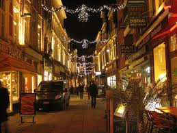 festive lighting. commercial festive lighting with kms deco in belgium