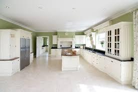 cream hand painted fitted kitchen with dark worktops and wood fitted kitchens cork fitted kitchens cream n52 cream