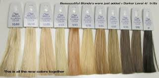 Image Result For Wella Toner Chart T Series In 2019 Hair