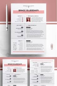 Rose Resume Template 76563