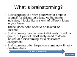 by anita j ghajar selim ppt  learn how to brainstorm