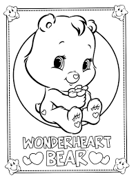 Small Picture care bears coloring page care bears cousins Pinterest Care