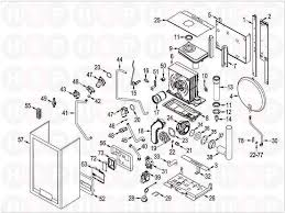 Sime format dgt 20 he system boiler assembly diagram heating