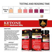 True Plus Ketone Test Strips Color Chart 71 Symbolic Keto Strip Chart