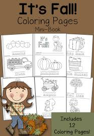 Small Picture FREE Fall Mini Books and 12 Coloring Pages Free Homeschool Deals