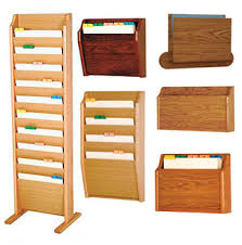 Chart Holder For Classroom All Oak File And Chart Holders By Wooden Mallet Options