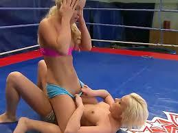 Japanese girls strip wrestling