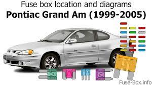 99 pontiac grand am fuse box wiring diagram user fuse box location and diagrams pontiac grand am 1999 2005 99 pontiac grand am fuse box