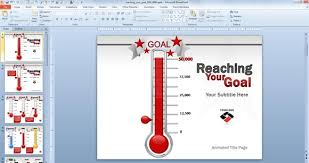 How To Make A Thermometer Goal Chart Fundraising Goal Chart Template Jasonkellyphoto Co