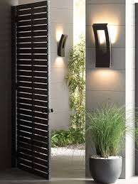 contemporary outdoor wall lights style  elegant and contemporary