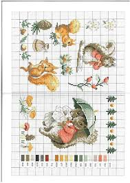 Free Beatrix Potter Animals Cross Stitch Chart Cross