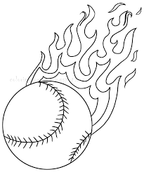 12 baseball coloring pages | Print Color Craft