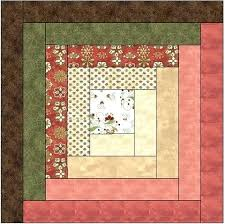 Log Cabin Quilt Patterns King Size Maple Leaf Log Cabin Quilt ... & ... Log Cabin Quilts Patterns Log Cabin Quilt Pattern With Jelly Roll  Traditional Log Cabin Quilt Block ... Adamdwight.com