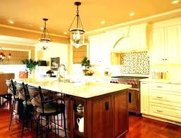 kitchen chandelier island lighting
