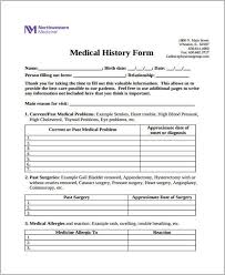 Free 39 Printable Medical Forms Pdf