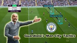 Can Man City Lift the Title Again? Pep Guardiola's Man City Tactics -  YouTube