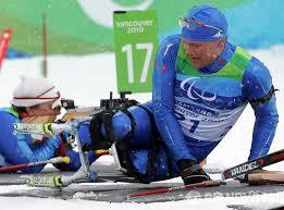 Паралимпийцы герои нашего времени РИА Новости  x Зимние Паралимпийские игры Биатлон 12 5 км сидя