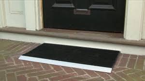 Worlds Best Outdoor Mat Raquo WBOM Doormat Video Gallery - Exterior doormat