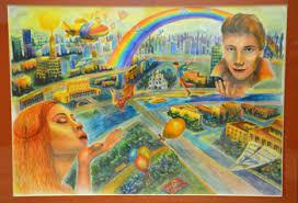 лет нефти в Татарстане Публикации  1 Зарина Салимова Картина победительницы называется Любовь и является дипломной работой Зарины В будущем юная художница надеется стать архитектором