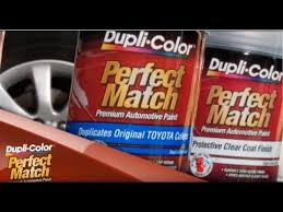 Duplicolor Perfect Match Color Chart Dupli Color How To Perfect Match