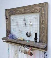 25 best ideas about hanging jewelry organizer on