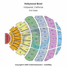 Seating Chart For Paul Mccartney Hollywood Bowl Ca Los Angeles Weekends In 2019 Paul