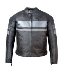 spark motorbike leather jacket with armor