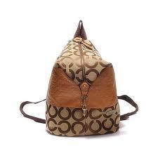 ... Coach In Monogram Medium Khaki Backpacks DHC ...