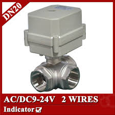 popular 4 wire ac motor buy cheap 4 wire ac motor lots from 3 4 ac dc9 24v motorized ball valve dn20 2 wires