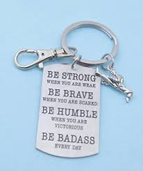 mens or boys karate dog keychain karate key chain karate gifts karate mom be bad everyday gift for him martial arts