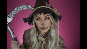 not so scary scarecrow makeup jayyroot