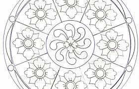 Disegni Da Colorare Mandala Disegni Da Colorare Mandala Fiori