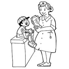top  free printable community helpers coloring pages onlinethe nurse
