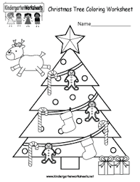 christmas tree coloring worksheet free kindergarten christmas worksheets keeping up with the on reading measurements worksheets