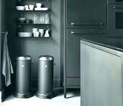 metal kitchen trash can metal kitchen trash can big kitchen trash can decorative wooden cans dual