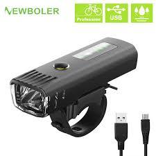NEWBOLER 2500 MAh 300 Lumen Đèn Pin Cho Xe Đạp Tiêu Chuẩn Đức Cảm Ứng Trước Xe  Đạp USB Sạc Lồng Đèn Xe Đạp|Đèn Xe Đạp