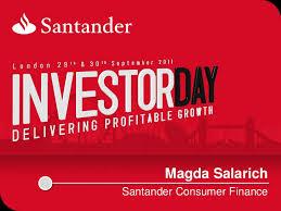 Santander Consumer Finance Santander Investor Day 2011