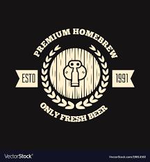 Vintage Logo Vector Retro Vintage Logo Badge Emblem Or Logotype Vector Image