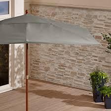rectangular sunbrella graphite patio