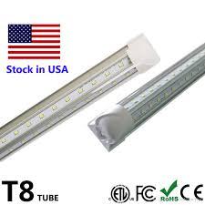 6 Ft Fluorescent Light Fixture Us 269 0 4ft T8 Led Tube V Shape Integrate 2ft 4ft 5ft 6ft 8ft Tube T8 Fixture Led Fluorescent Tubes Light Cooler Door Lighting Ac85 265v In Led