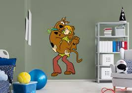 scooby doo and gy fathead wall decal