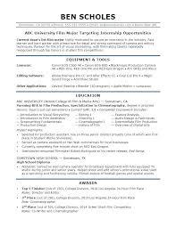 It Internship Resume Sample It Intern Resume Internship Resume