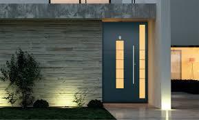 aluminium front doors